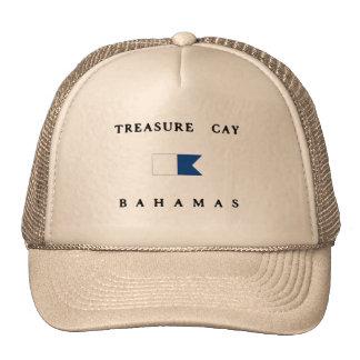 Bandera alfa de la zambullida de Bahamas de la Gorros