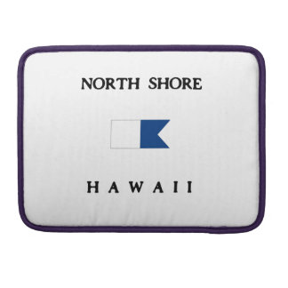 Bandera alfa de la zambullida de Hawaii de la Funda Para Macbook Pro