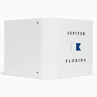 Bandera alfa de la zambullida de Júpiter la Florid