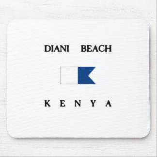 Bandera alfa de la zambullida de Kenia de la playa Tapete De Ratón
