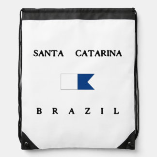 Bandera alfa de la zambullida de Santa Catarina el Mochilas