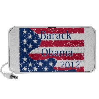Bandera alterada de Barack Obama 2012 los E E U U iPod Altavoces