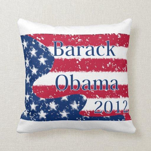 Bandera alterada de Barack Obama 2012 los E.E.U.U. Cojines