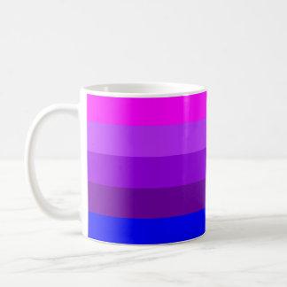 Bandera alternativa del orgullo del transexual taza clásica