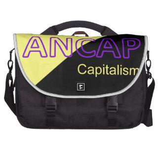 Bandera amarilla y negra de ANCAP Bolsas De Portatil
