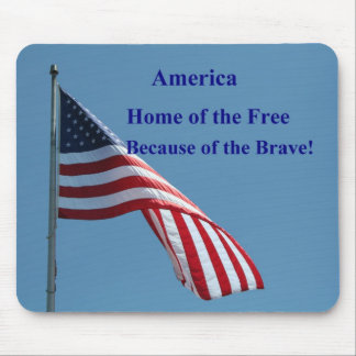 Bandera América Tapete De Raton