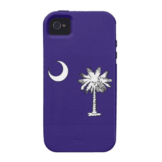 bandera América unida caso del estado de Carolina Funda Case-Mate Para iPhone 4