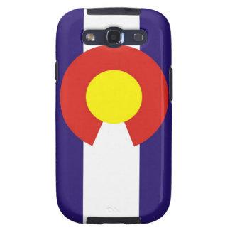 bandera América unida caso del estado de Colorado  Galaxy S3 Cárcasas
