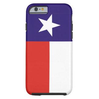 bandera América unida caso del estado de Tejas los Funda Para iPhone 6 Tough