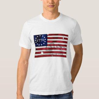 Bandera americana 1776 playera