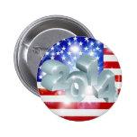 Bandera americana 2014 pin