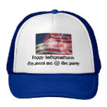 bandera americana 4 de julio, Día de la Independen Gorras De Camionero