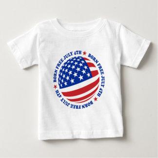 Bandera americana 4 de julio playeras