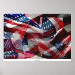 Bandera americana #6 impresiones