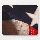 Bandera americana alfombrilla de raton