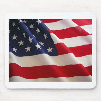 Bandera americana alfombrillas de ratón