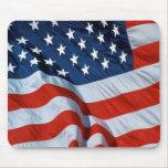 Bandera americana alfombrillas de ratones
