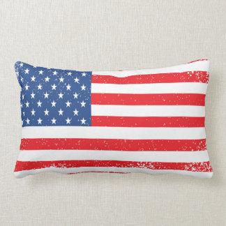 BANDERA AMERICANA - almohada de tiro