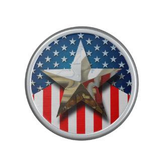 Bandera americana altavoz