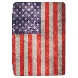 Bandera americana antigua de Falln Cover De iPad Air