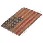 Bandera americana apenada cubierta de iPad air