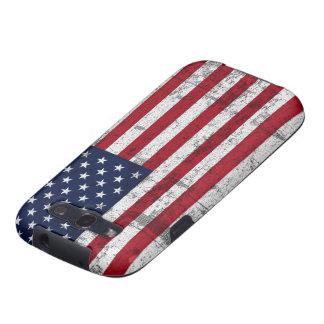 Bandera americana apenada galaxy s3 fundas