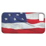 Bandera americana apenada iPhone 5 Case-Mate cárcasa
