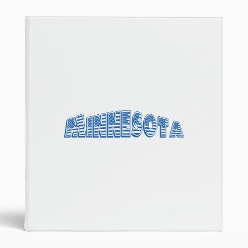 Bandera americana azul Minnesota