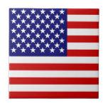Bandera americana azulejos cerámicos