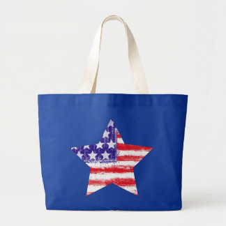 bandera americana, barras y estrellas, Estados Uni Bolsa Tela Grande
