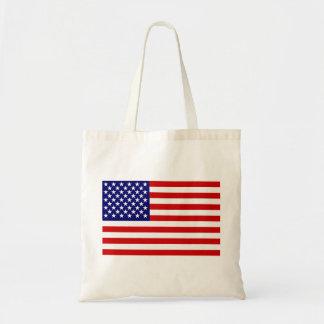 Bandera americana bolsa tela barata