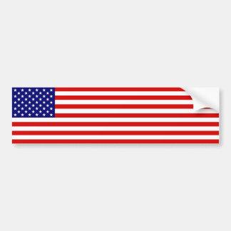 Bandera americana pegatina de parachoque