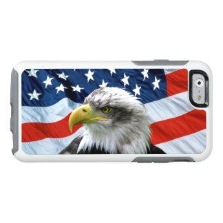 Bandera americana calva de Eagle Funda Otterbox Para iPhone 6/6s