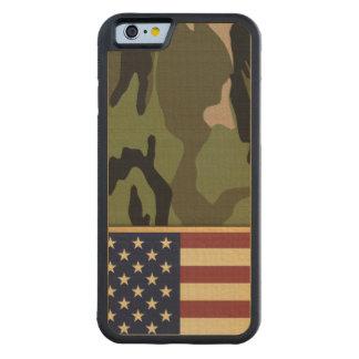 Bandera americana Camo Funda De iPhone 6 Bumper Arce