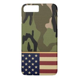 Bandera americana Camo Funda iPhone 7 Plus