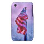 Bandera americana Case-Mate iPhone 3 cárcasas