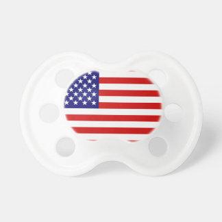 Bandera americana chupetes
