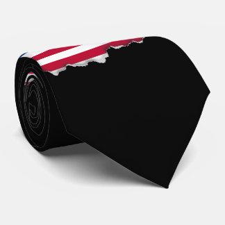 Bandera americana clásica corbatas