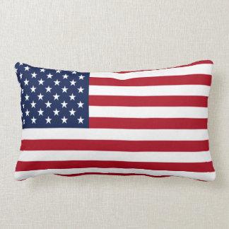 Bandera americana cojines
