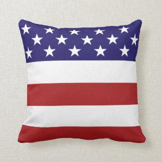 Bandera americana almohadas