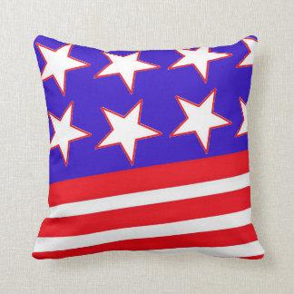 Bandera americana cojín