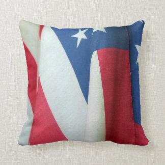 Bandera americana cojin