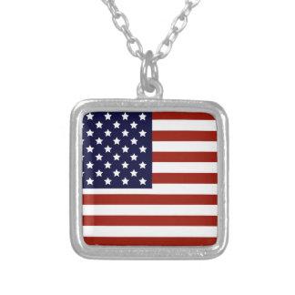 Bandera americana pendiente personalizado