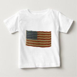 Bandera americana con 40 estrellas tee shirt