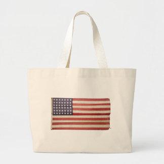 Bandera americana con 42 estrellas bolsas lienzo