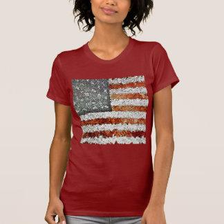 Bandera americana creativa playeras