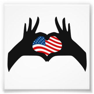 Bandera americana de Estados Unidos del símbolo Cojinete