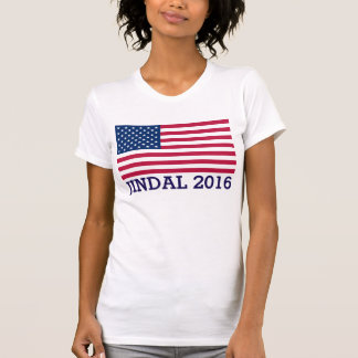 Bandera americana de Jindal 2016 patrióticos Tshirts