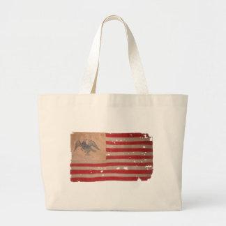 Bandera americana de la expedición de Fremont Bolsa Tela Grande