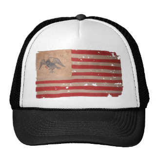 Bandera americana de la expedición de Fremont Gorros